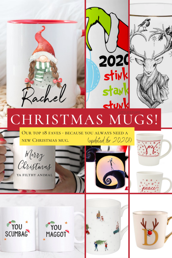 The 2020 edit of our top Christmas mugs UK