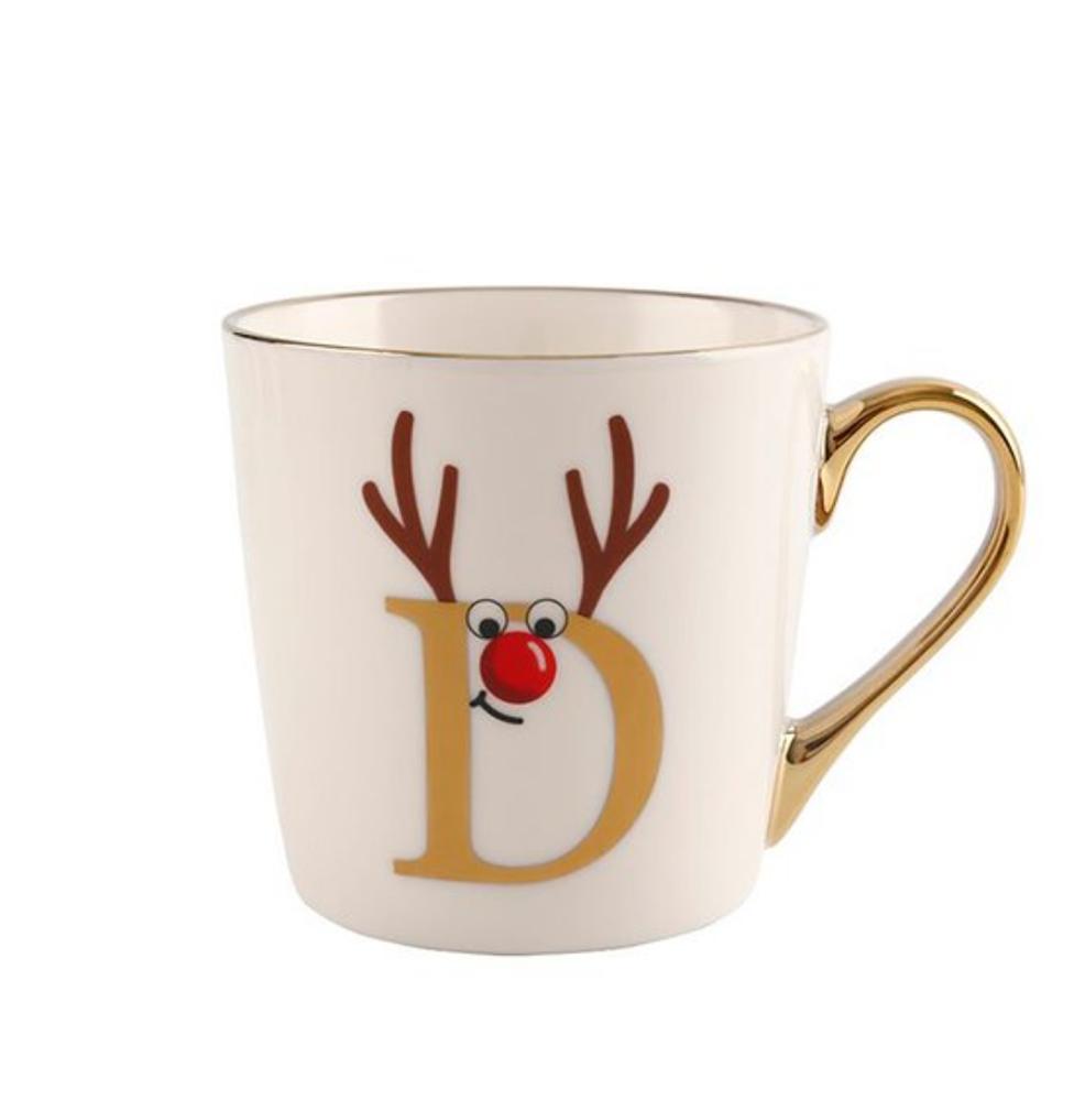 Christmas Mugs for Teens alphabet mug