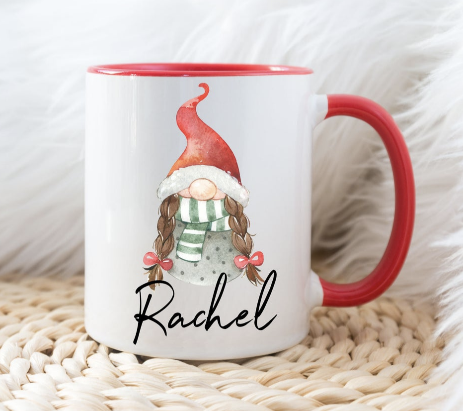 Christmas Mugs for Teens - the personalised Gonk