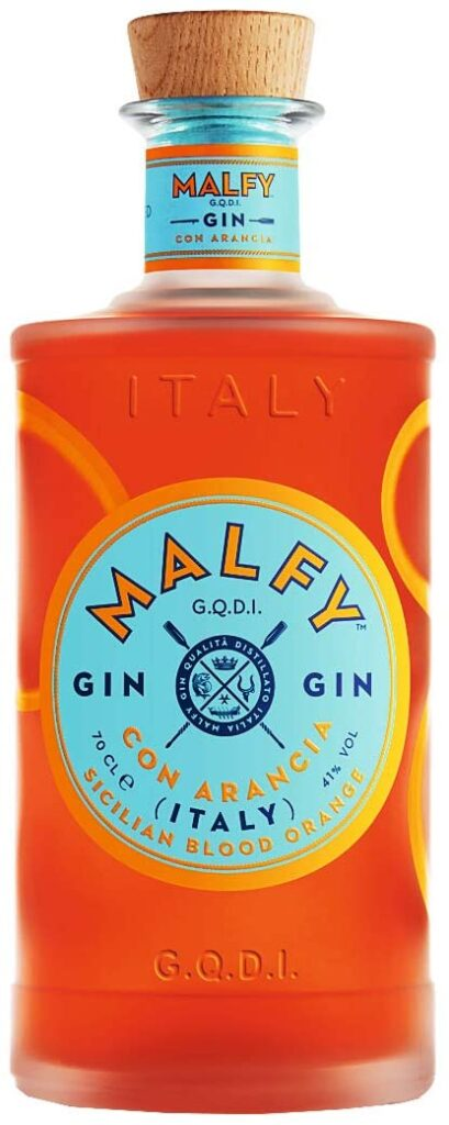 malfy blood ornage top gins 2020