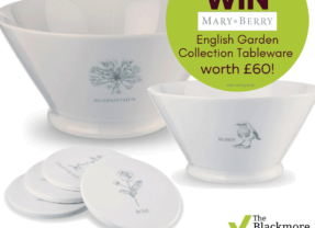 Win a set of Mary Berry's 'The English Garden' Beautiful Tableware worth £60