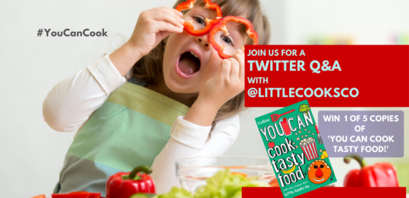 YOU CAN cook tasty food – easy tips to get kids cooking. WIN!