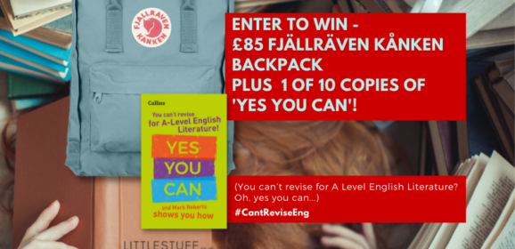Revise A Level English and Win a Fjällräven Kanken backpack and BOOKS!