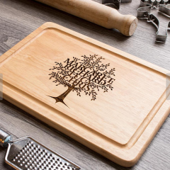 Spotted! Family Tree Chopping Board