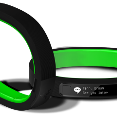 Razer Nabu, the wearable smartband that understands you by being with you.