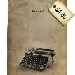 #lovestationery – Vintage Typewriter journal. *swoons*